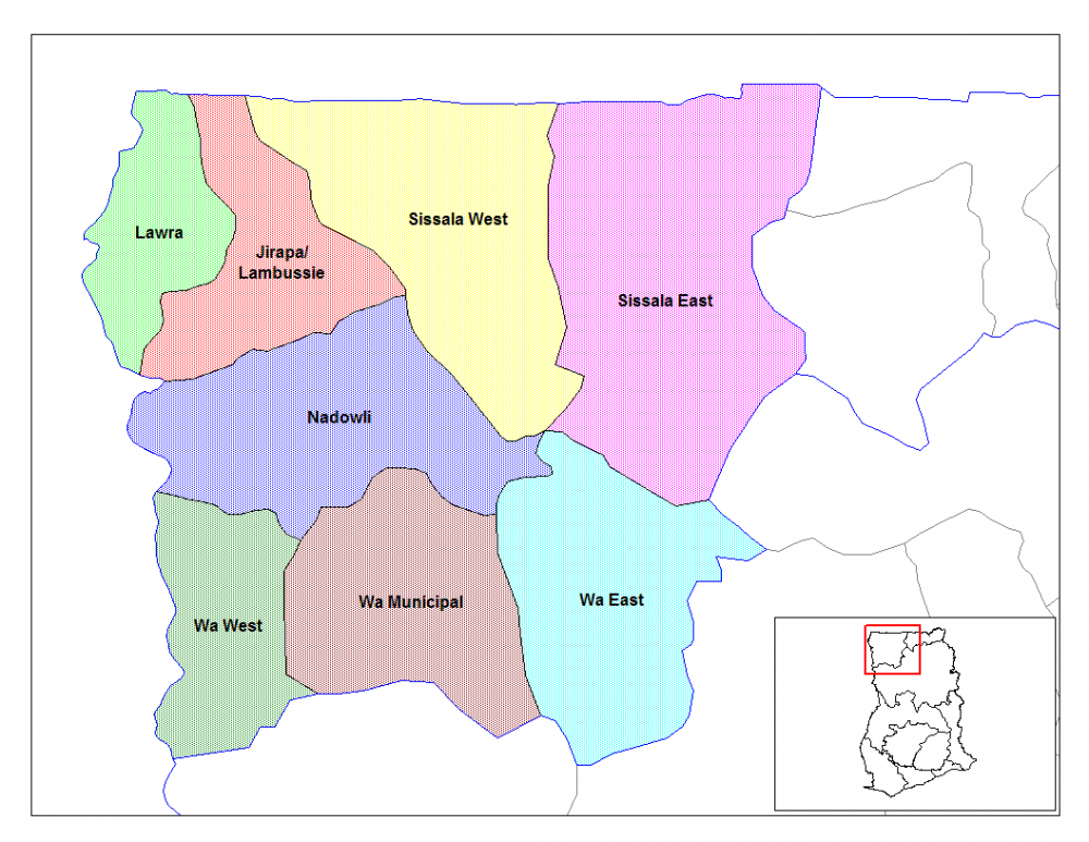 upper_west_ghana_districts